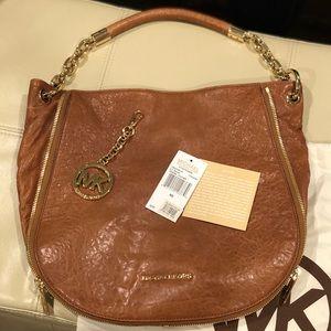Michael Kors Stanthorpe LG Leather Shoulder bag
